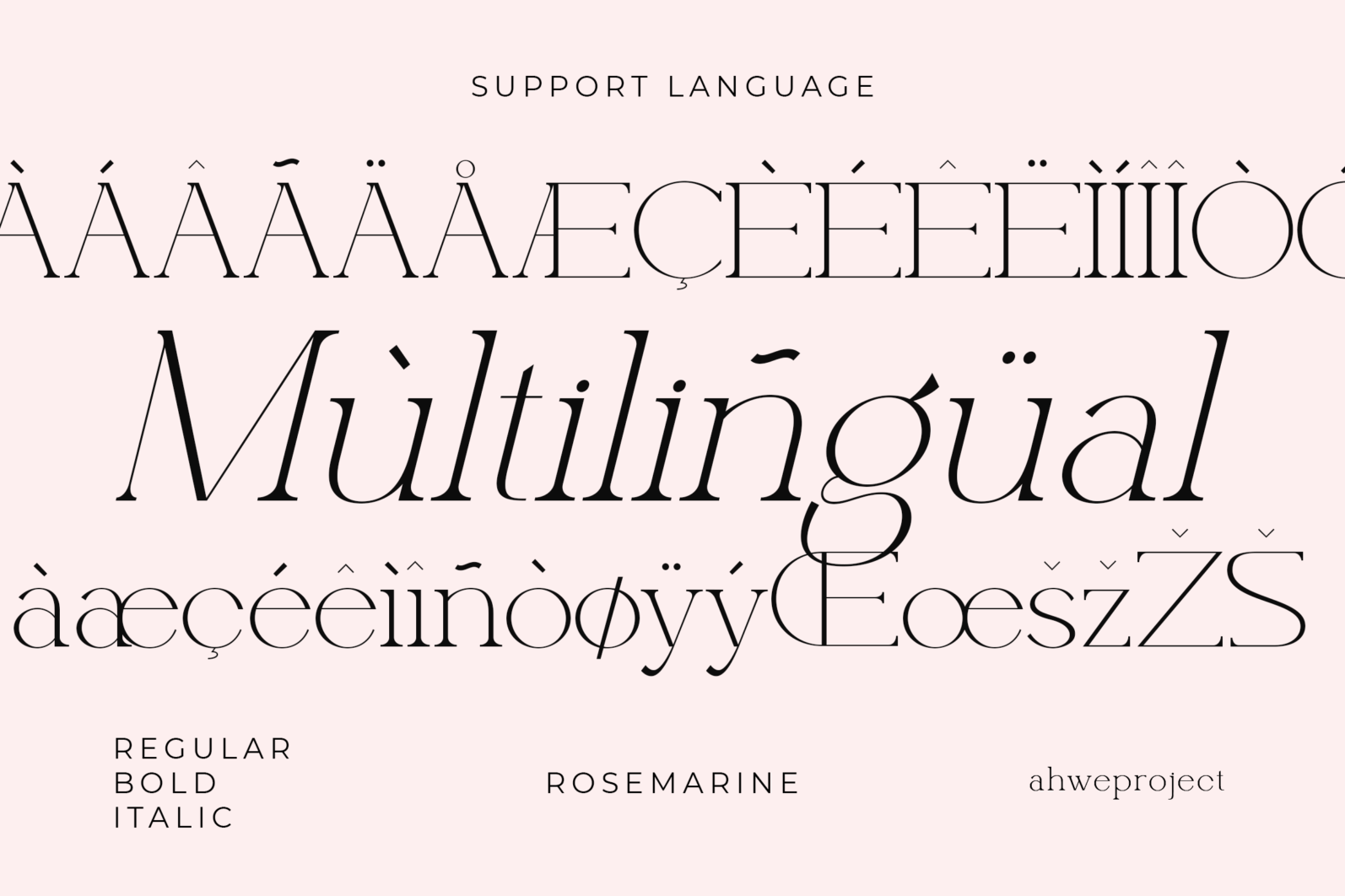 Rosemarine - Rosemarine Fonts 16042507 7 -