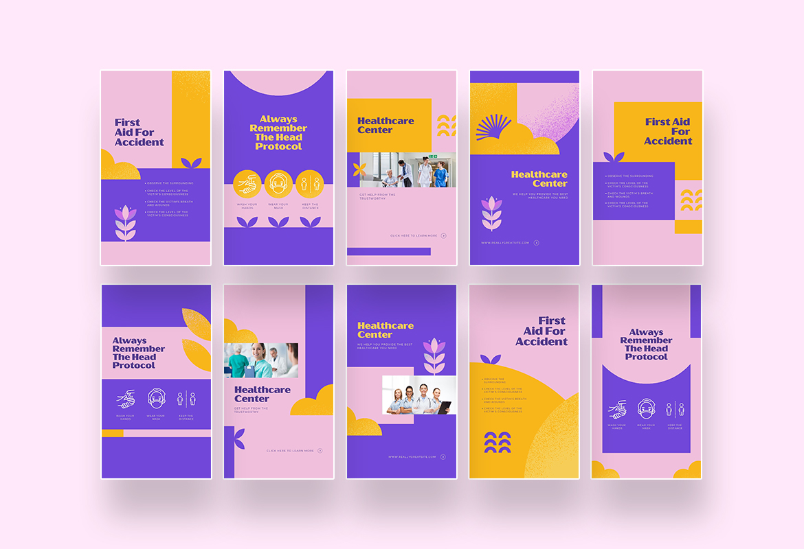 Medical Healthcare Info Instagram Canva - 03 Preview 6 -
