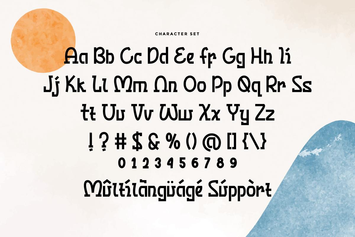 Mizunami Japanese Font - Mizunami 3 -