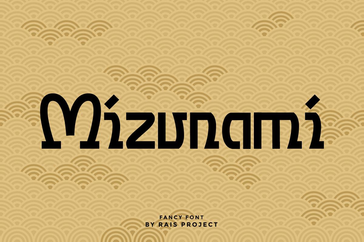 Mizunami Japanese Font - Mizunami 1200x800 2 -