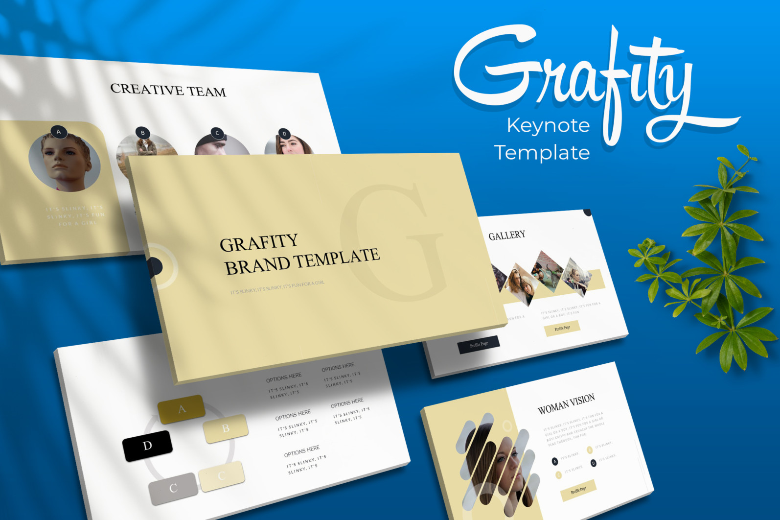 Grafity Keynote Template - Grafity Keynote Template -