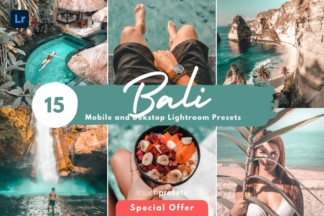 Iphone Ready Lightroom Presets - Lightroom Presets Mobile Dekstop Bali Travel 1 -