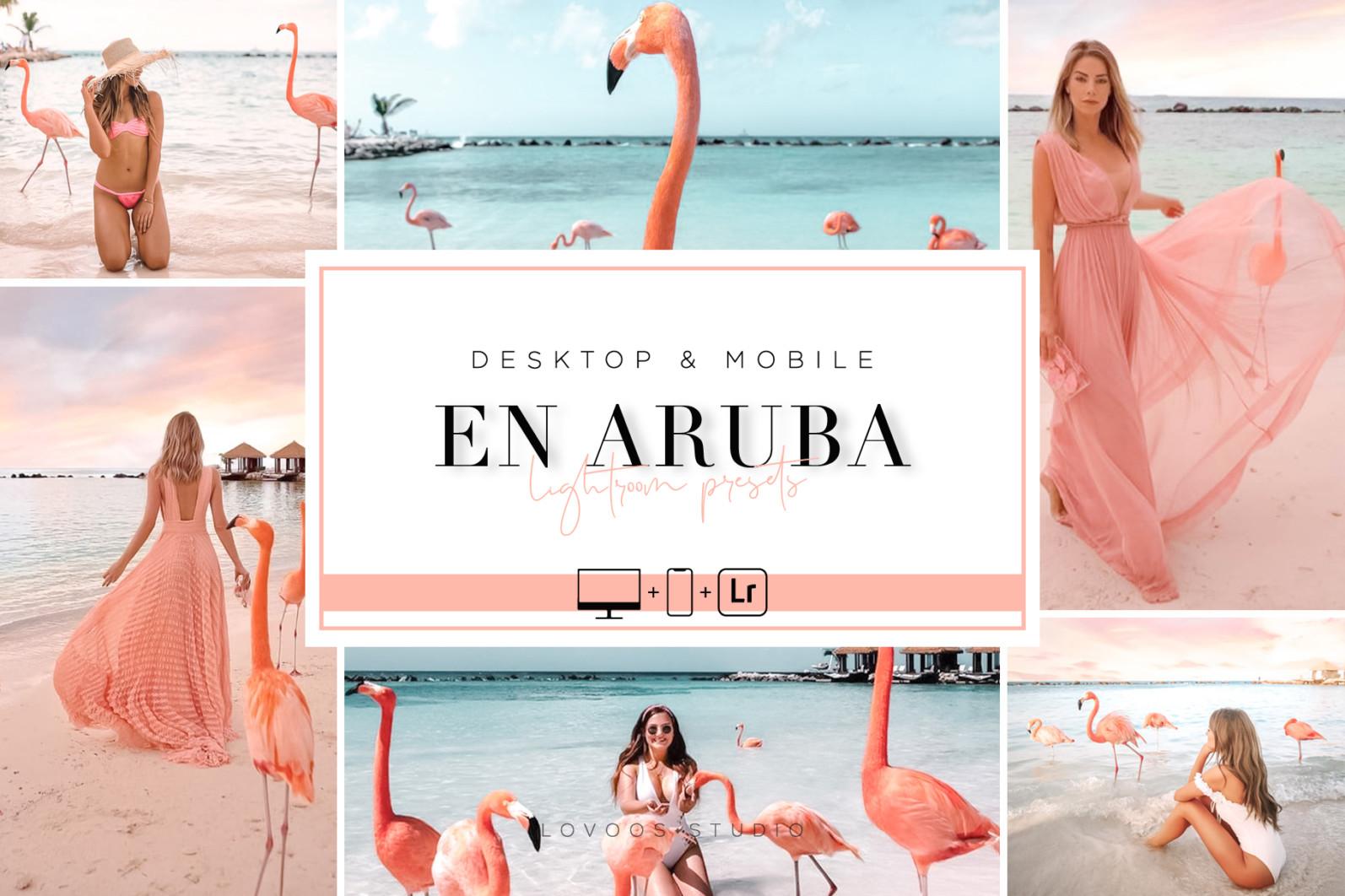 EN ARUBA - Lightroom Presets - UP COV 02 -